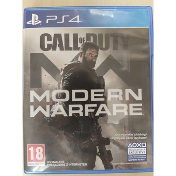 Call of Duty: Modern Warfare ( PS4 ) PL DUBBING