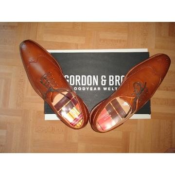 Buty męskie BROGSY - GORDON BROS / roz. 44 / NOWE