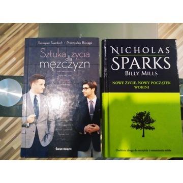 Zestaw książek 2 sztuki . SPARKS ,Twardoch,Bociąga