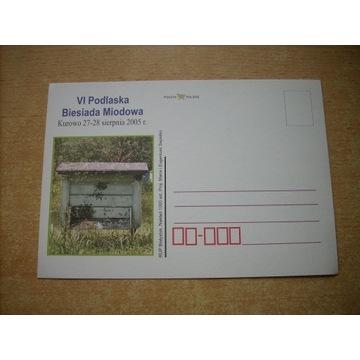 kartka karta pocztowa Pszczoła pszcz nakład 1.000