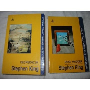 KING DESPERACJA ROSE REGULATORZY STREFA X 4 TOMY