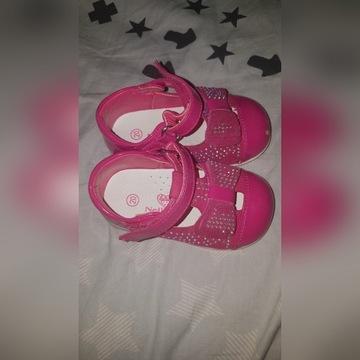 Sandały na dziewczynke