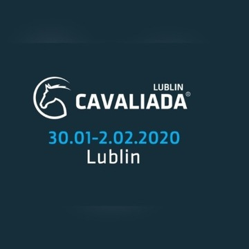 Dwa bilety Cavaliada Lublin 31.01 piątek