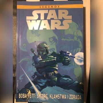 Star Wars legendy Boba Fett Śmierć kłamstwa zdrada