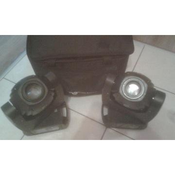 2 x Light4ME Focus 60 LED Spot + Torba