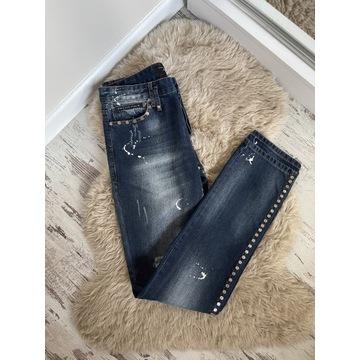 jeansy philipp plein rozm 34