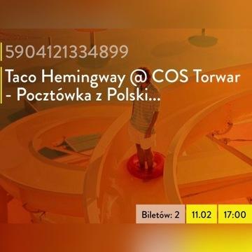 Taco Hemingway COS Torwar