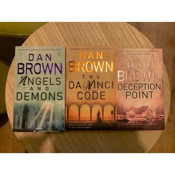 Dan Brown Trylogia po angielsku
