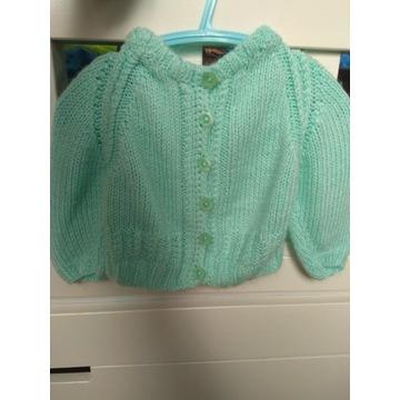 Sweterek dla dziewczynki rozm 62