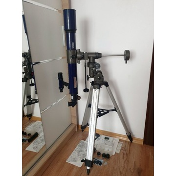Teleskop luneta Bresser Skylux Refractor 70/700