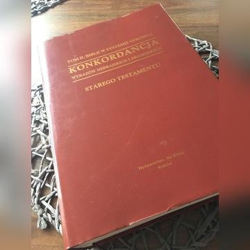Konkordancja Starego testamentu w systemie Stronga