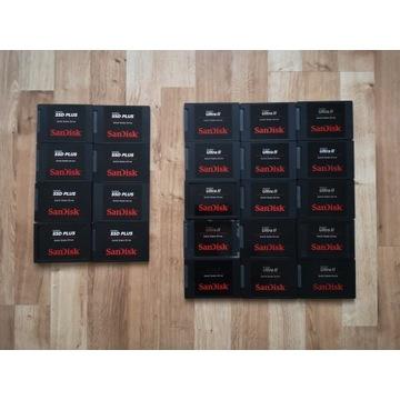 DYSK SSD SanDisk ULTRA II  PLUS 480GB - TYLKO DZIŚ