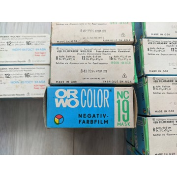 ORWO Color NC19 MASK filmy typu 120 średni format