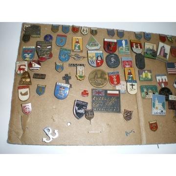 Przypinki - odznaki-różne