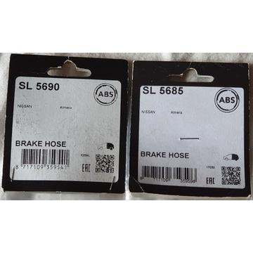 Przewód hamulcowy giętki Nissan Almera N16-A.B.S.