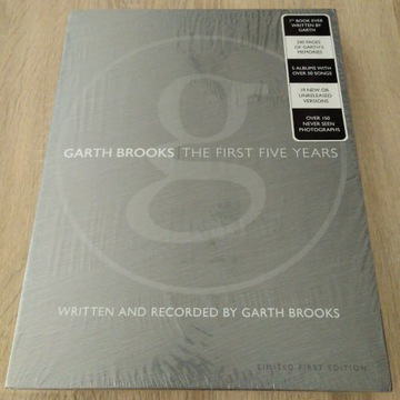 Garth Brooks The Anthology Pt. 1 - 5 CD Limited Ed