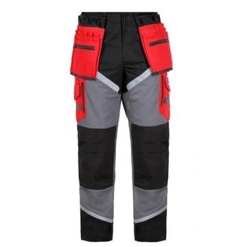 Spodnie robocze Lahti Pro L4050501 S nakolenniki