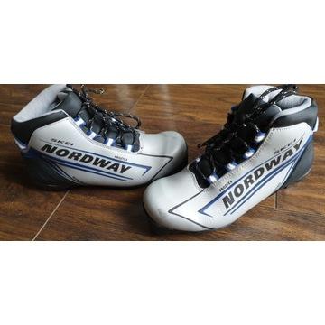 Biegówki, buty na narty biegowe Nordway