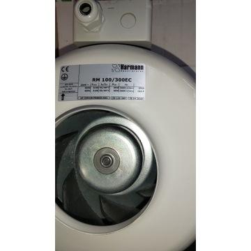 Wentylator harmann RM/100/300 EC