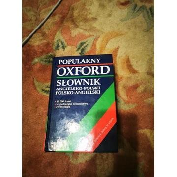 Słownik Angielski Oxford