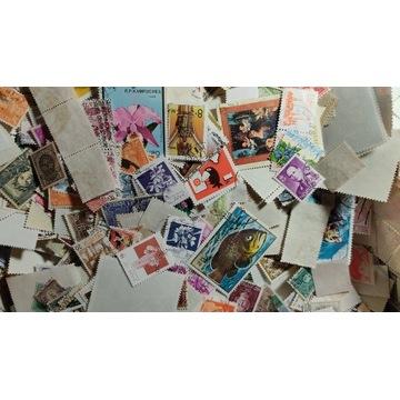 500 znaczków ze świata, KAŻDY INNY!!!