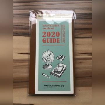 Wkład do Traveler's Notebook 2020