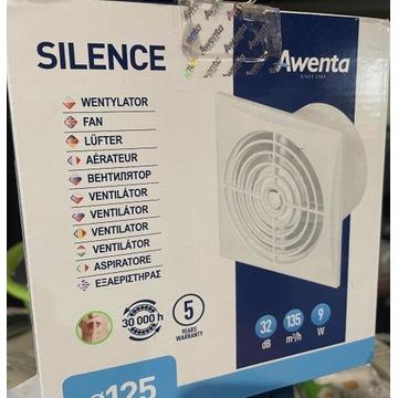 Wentylator Awenta Silence 125H z Higrostatem 1.10