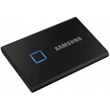 Dysk Samsung Portable SSD T7 Touch 2TB czarny