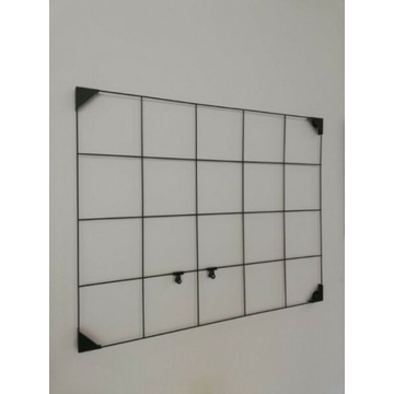 Czarna tablica moodboard
