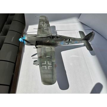 Gotowy model samolotu Fw-190 A-8 w skali 1/48