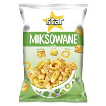 Star chips miksowanie smak papryka, pizza ser