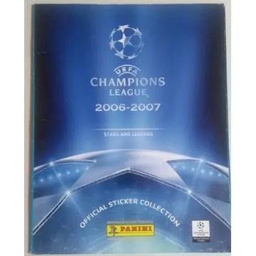 Album Panini UEFA Champions League 2006 naklejki