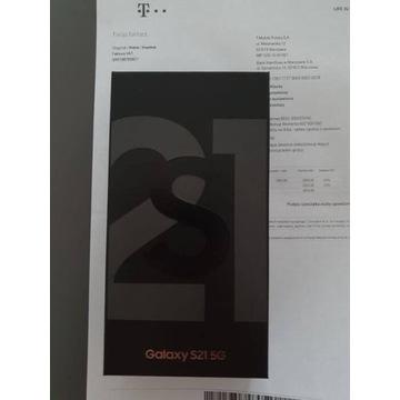 Samusung S21 5G UBEZPIECZENIE Czarny 128GB Black