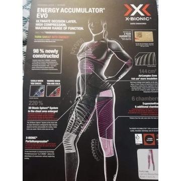 Damska bielizna termiczna firmy X-bionic