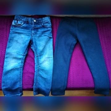 Spodnie  Denim, rozm 104