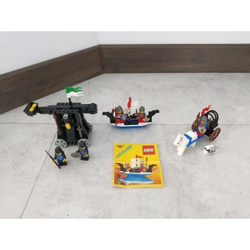 Lego zbiór 6030 6016 6017 zamki