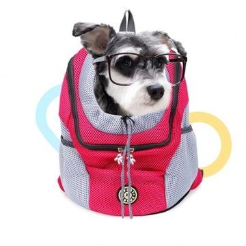 Torba na psa lub kota, Transporter,Plecak