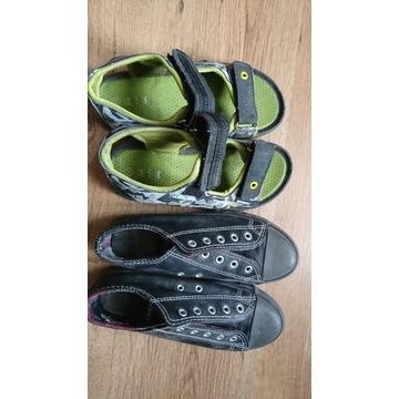 trampki sandały zestaw 2 pary rozmiar 35