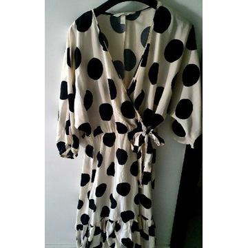 Piękna sukienka H&M na ciążę i nie tylko, jak nowa