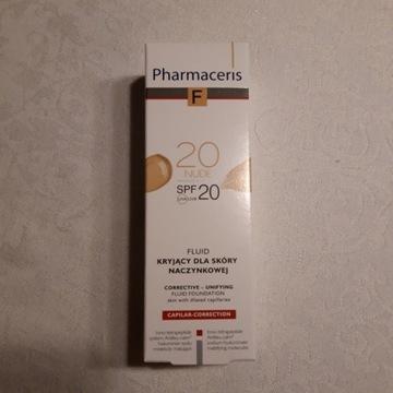 Pharmaceris Fluid kryjący dla skóry naczynkowej 20