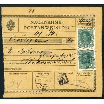 1919 Zabór Austriacki Galicja Ukraina Tarnopol