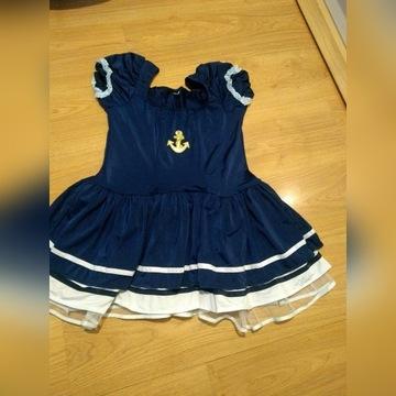 Sukienka marynarska , przebranie , kostium