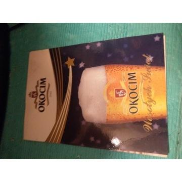 Pocztówka Okocim Świąteczna Kufel