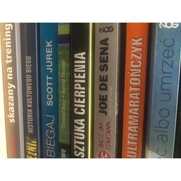 Książki o bieganiu Karnazes, Jornet, Rzeźnik