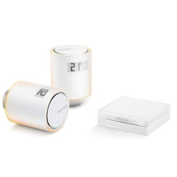 Netatmo Valves Set 2 głowice termostatyczne + prz