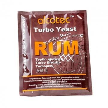 Drożdże dla rumu Alcotec Rum + glukoamylaza