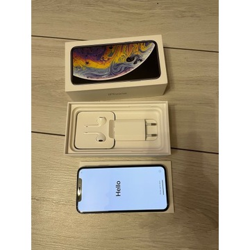 Apple iPhone XS 64 GB Silver + Gratisy