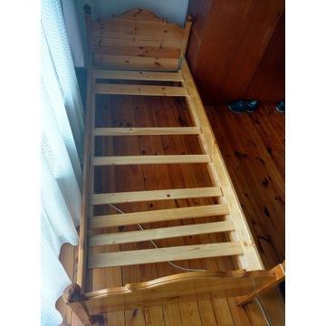 łóżko sosnowe 85x210cm + GRATIS materac