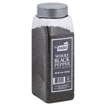 Pieprz cały czarny Badia Black Pepper 453g z Usa
