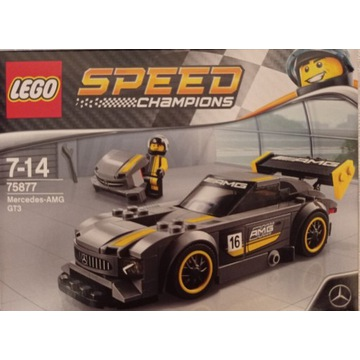 LEGO 75877 Speed Champions Mercedes-AMG GT3 NOWE